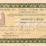 """""""CASA DEL FASCIO"""" SOCIETA' ANONIMA COOPERATIVA-1"""