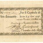Biglietti di Credito verso le Regie Finanze – Lire 200-1