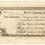 Biglietti di Credito verso le Regie Finanze – Lire 200-2