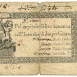 Biglietti di Credito verso le Regie Finanze – Lire 200-3