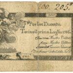 Biglietti di Credito verso le Regie Finanze – Lire 200-4