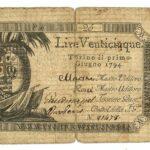 Biglietti di Credito verso le Regie Finanze – Lire 25-2