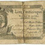 Biglietti di Credito verso le Regie Finanze – Lire 25-1