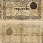 Banca Nazionale negli Stati Sardi – Lire 50-9