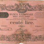 Banca Nazionale negli Stati Sardi – Lire 100-6