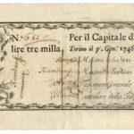 Biglietti di Credito verso le Regie Finanze – Lire 3.000-1