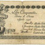 Biglietti di Credito verso le Regie Finanze – Lire 50-12