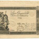Biglietti di Credito verso le Regie Finanze – Lire 50-13