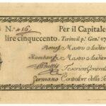 Biglietti di Credito verso le Regie Finanze – Lire 500-1