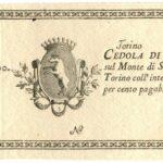 Monte di San Secondo  (cedole) Torino Lire 500-1