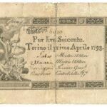 Biglietti di Credito verso le Regie Finanze – Lire 600-1