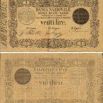 Banca Nazionale negli Stati Sardi – Lire 20-2