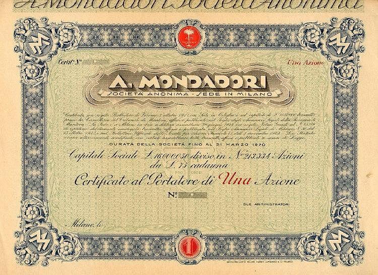 A. Mondadori S.A.