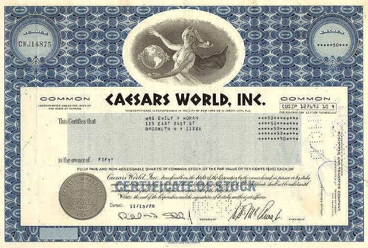 Caesars World Inc.