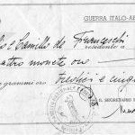 """A XIII """"ALLA PATRIA DILETTA""""-GUERRA ITALO ABISSINA-1"""