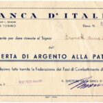 """""""BANCA D'ITALIA""""-OFFERTA DI ARGENTO ALLA PATRIA-1"""