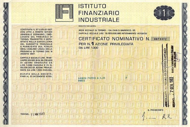 Istituto Finanziario Industriale - IFI