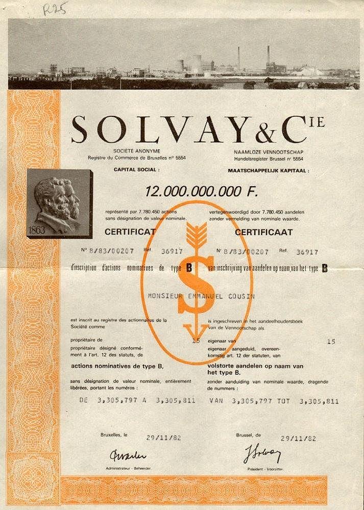 Solvay & C.ie