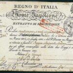 Monte Napoleone – Regno d'Italia Napoleonico 1809-1