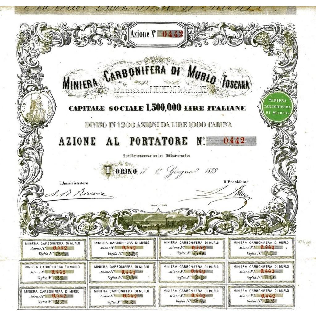 Miniera Carbonifera di Murlo - Siena