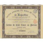 Mines de Cuivre de la Valpelline Soc. An.-1